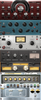 A selection of available VST effects