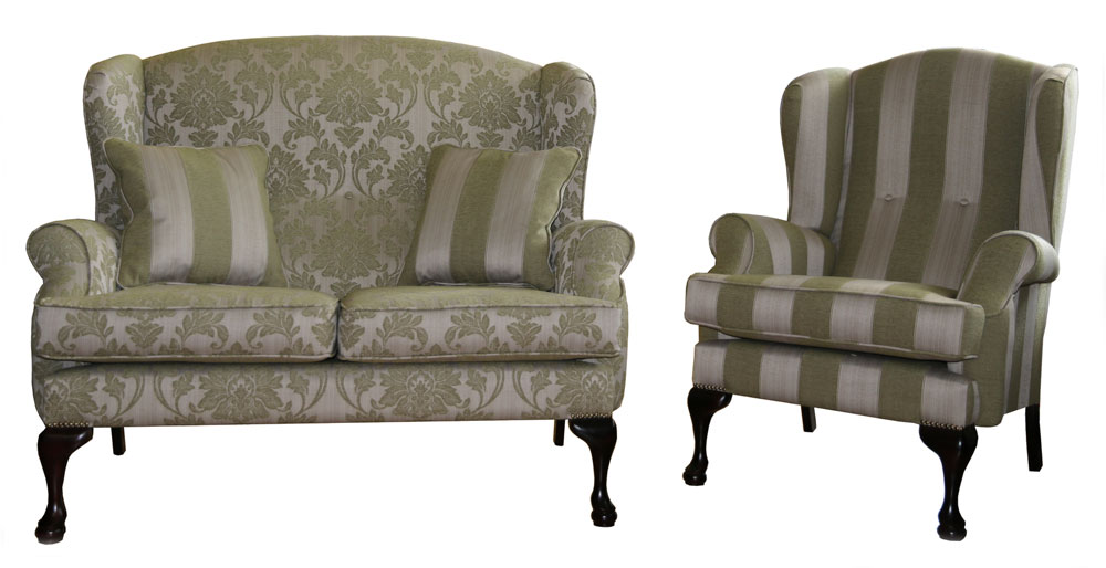 Queen Anne Sofa And