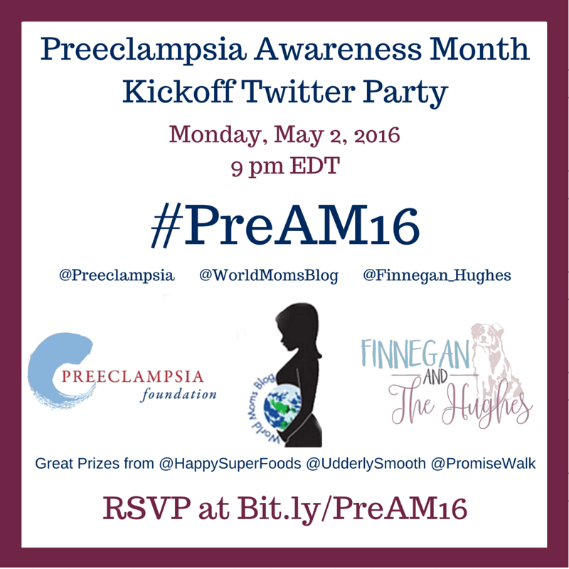 Preeclampsia Awareness Month #PreAM16