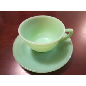 Voguish Jane Ray Cup Saucer Mixing Bowls Mug Fire King Dishes Worth Fire King Dishes Blue