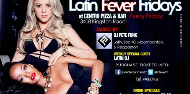 Latin Fever Fridays with Pete Funk