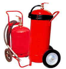 ABC Dry Chemical Powder Trolley