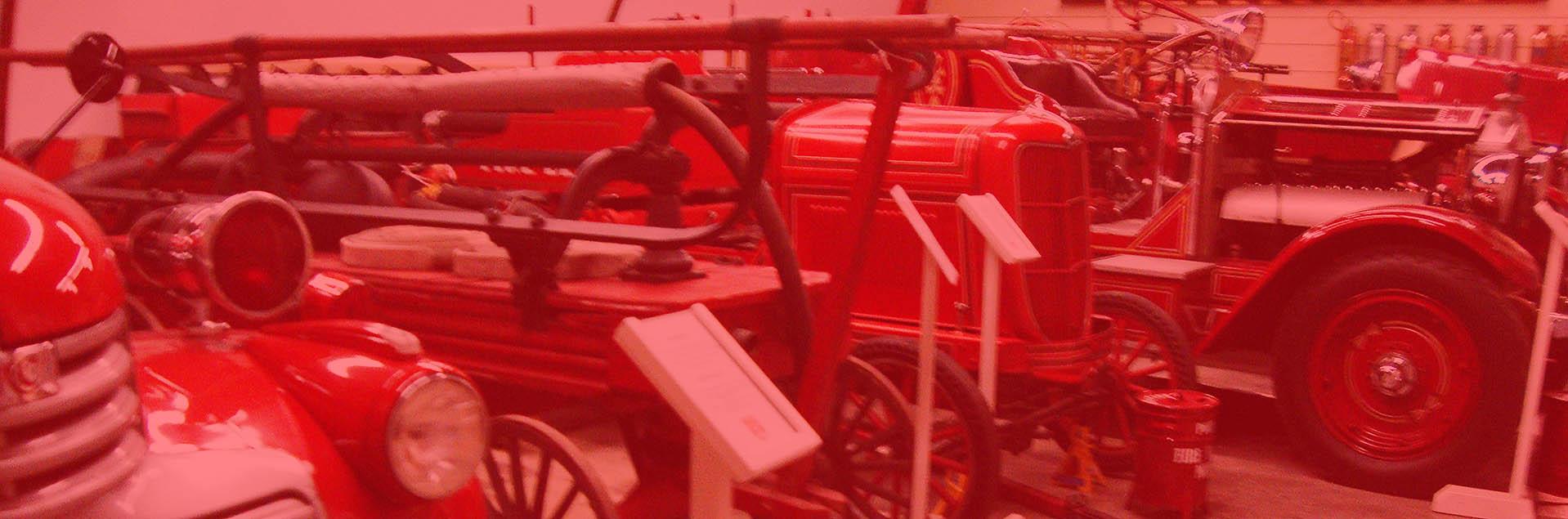 Canadian Fire Fighters Museum Fire Trucks