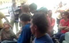 Disabili occupano la sede della Regione Toscana