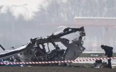 Incidenti: resta grave il pilota dell'aereo da turismo caduto nell'aretino