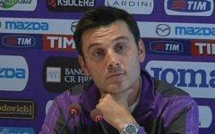 Fiorentina, Montella: «Riprendiamoci i punti persi con l'Inter»