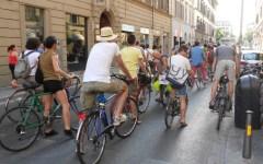 Florence bike night, pedalata notturna in attesa dei Mondiali