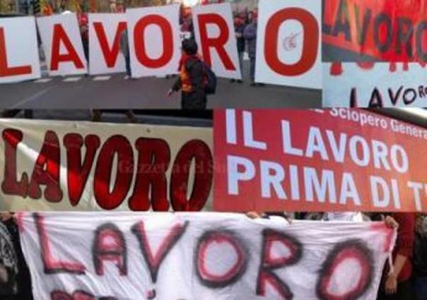 Disoccupazione al top in Italia