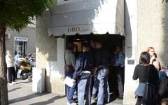Grosseto: rapina in gioielleria, sparati due colpi