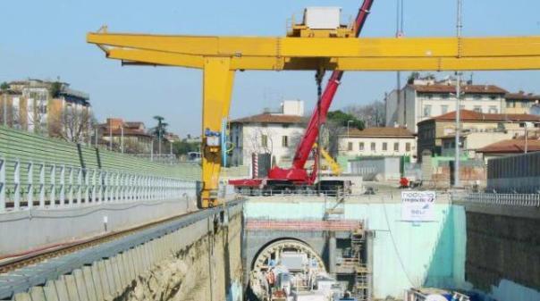 I lavori della Tav sotto inchiesta a Firenze