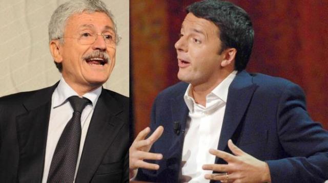 Massimo D'Alema: Renzi lasci da segretario Pd. Referendum? Voto no