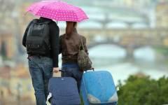 Maltempo, Ponte di Ognissanti con le piogge