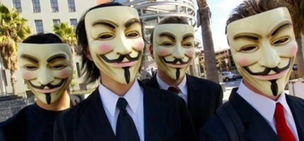 Blitz di Anonymous a Firenze