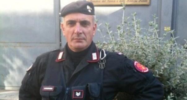 Il brigadiere Giuseppe Giangrande, 51 anni, ferito da Luigi Preiti davanti a Palazzo Chigi il 28 luglio