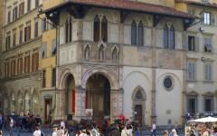 Storia di Firenze, la Loggia del Bigallo