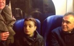 Linea Montevarchi-Firenze, il Governatore in treno con i pendolari
