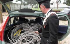 Furti di rame, in corso sei arresti a Prato