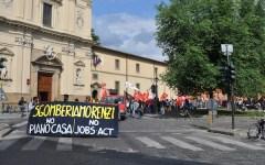 Firenze, sciopero generale venerdì 14 novembre: rischio caos. Gli orari e le strade che saranno bloccate da tre cortei