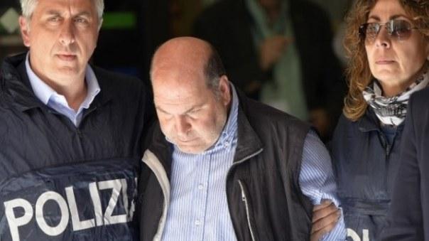 Riccardo Viti al momento dell'arresto il 9 maggio scorso