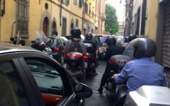 Via Faenza, nel tratto verso la Fortezza, è una camera a gas