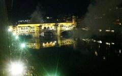 Firenze, anteprima di Pitti Uomo: Bocelli dà nuova luce al Ponte Vecchio