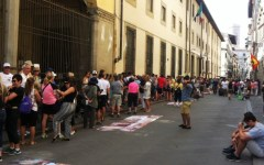 Terremoto: da Uffizi e Galleria dell'Accademia devoluti oltre 83 mila euro d'incasso