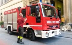 Firenze, paura alle Sieci: incendio al campo sportivo