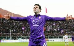 Fiorentina: Pepito Rossi a Firenze. Il medico: «Va meglio, ma per ora niente campo»