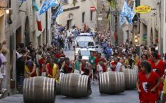 Montepulciano: domani 31 agosto il Bravìo delle botti