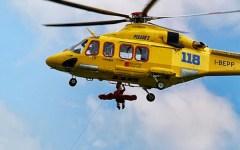 Grosseto: escusionisti feriti a Capo d'Uomo (Argentario). Recuperati con un verricello. L'intervento dell'elicottero Pegaso