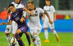 Fiorentina, con il Sassuolo torna l'incubo: 0-0. Due pali (Cuadrado e Borja)  ma il gol è sempre un miraggio. Le pagelle