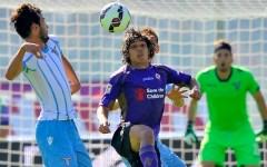 La Fiorentina si sveglia tardi: battuta dalla Lazio (0-2). Palo di Aquilani e un rigore (su Cuadrado) non concesso. Pagelle