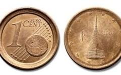 Euro: moneta da 1 centesimo sbagliata vale 2.500 €
