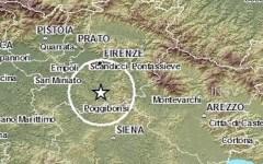 Terremoto a Firenze: scossa di 3,8 gradi alle 10,39 di oggi 19 dicembre.  Paura in città e nei comuni del Chianti, dove la gente è scappata ...