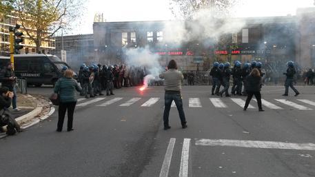 Manifestazioni, tensione alle Piagge