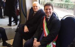 Firenze, Mattarella: cominciata sulla tramvia la prima visita istituzionale del Presidente