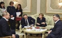 Ucraina: Merkel e Hollande ottengono il cessate il fuoco (ma l'Italia a quel tavolo non c'era...)