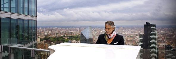 Andrea Bocelli inaugura Expo 2015