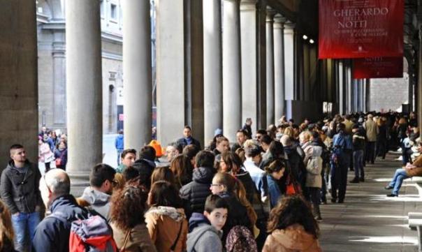 Uffizi e musei statali: boom di visite a Pasqua e Pasquetta