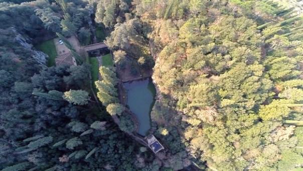 Una panoramica del Parco Romantico della Regina