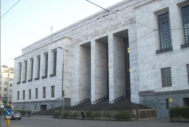 Milano palazzo di giustizia