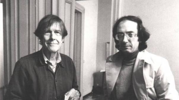 Giancarlo Cardini con John Cage