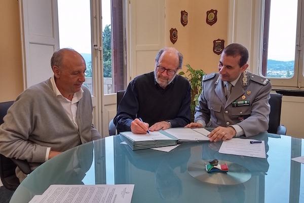 da sin. Andrea Battiata, Lorenzo Pezzatini e Giuseppe Vadalà