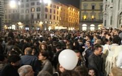 Firenze, notte bianca: folla straripante e musica dappertutto fino all'alba