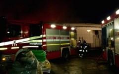 Vinci: auto distrutte nella notte nell'incendio di un'officina di una concessionaria a Sovigliana
