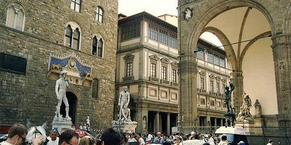 Piazza della Signoria a Firenze