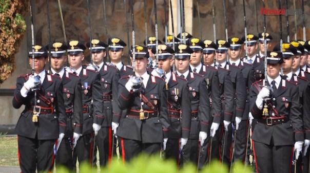 Allievi della Scuola Marescialli Carabinieri