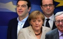 Renzi, Hollande e Tsipras all'Ue: basta austerity. La Germania del falco Schaeuble : irresponsabili!