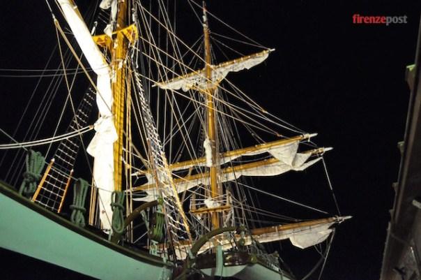Nave Palinuro ormeggiata a Palma di Maiorca