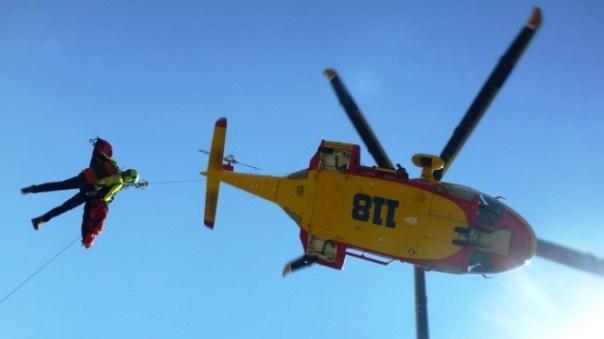 Un elicottero Pegaso del 118